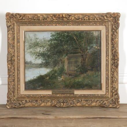 Paul Auguste Leon Mery Oil on Board WD8815084