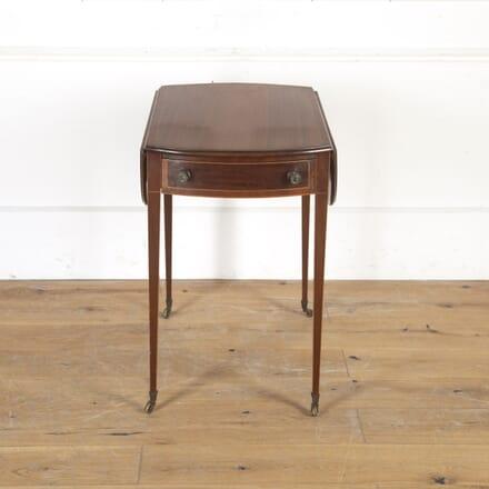 Regency Style Mahogany Pembroke Table TA5515270