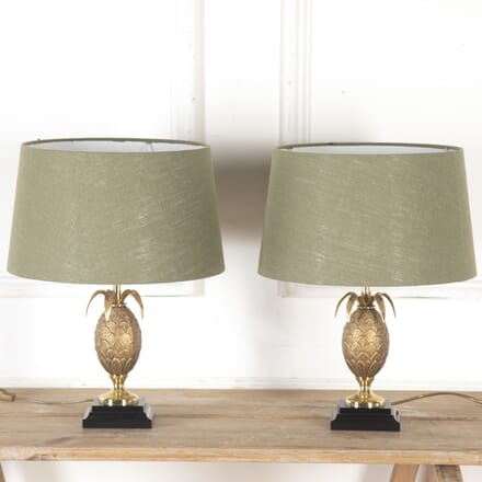 Pair of Maison Jansen Lamps with Shades LT7913998