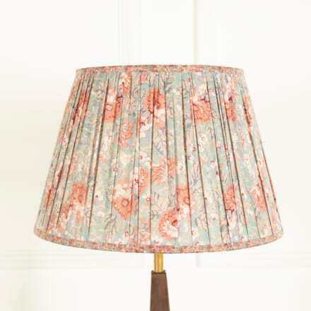 Pink and Blues Floral Silk Lampshade LS669033