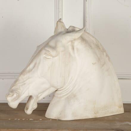 Plaster Horse Head DA5515258