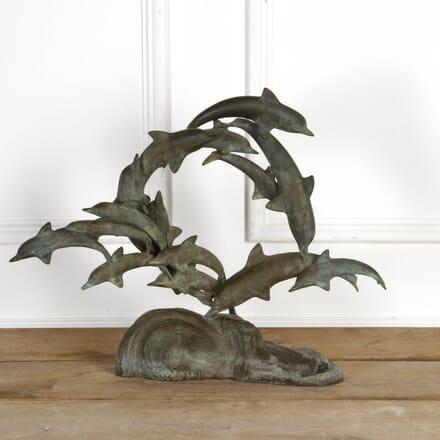 Pod Of Bronze Dolphins DA7917545
