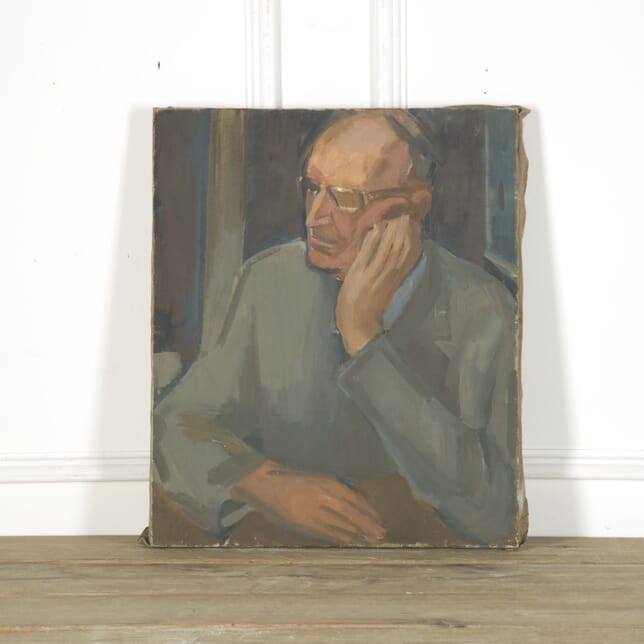 Portrait of Man in Glasses WD759314