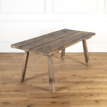 Primitive 19th Century Side Table TC9013688