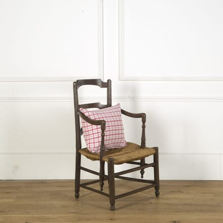 Provencal Rush Seated Fauteuil CH759311