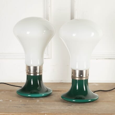Pair of Murano Glass Lamps by Carlo Nason LT8715371