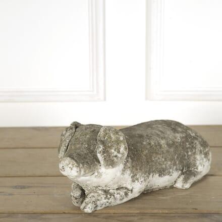 Reconstituted Stone Pig GA739177