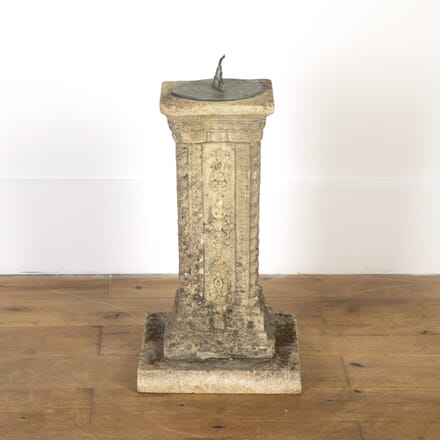 Country House Reconstituted Stone Sundial GA7916791