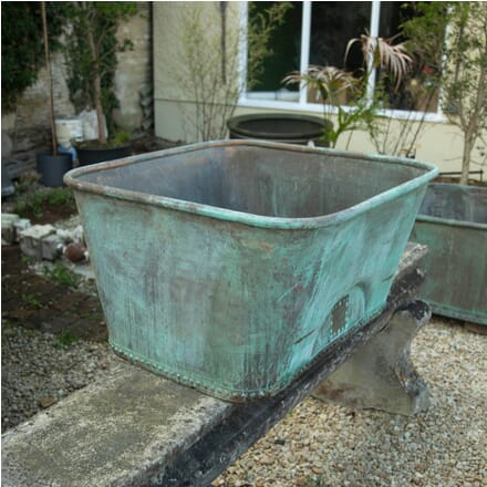 Verdigris Copper Planter GA1911210