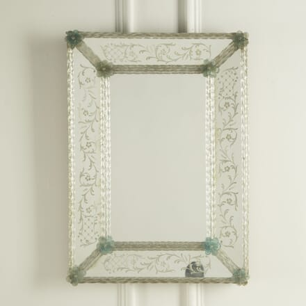 Rectangular Venetian Mirror MI309549