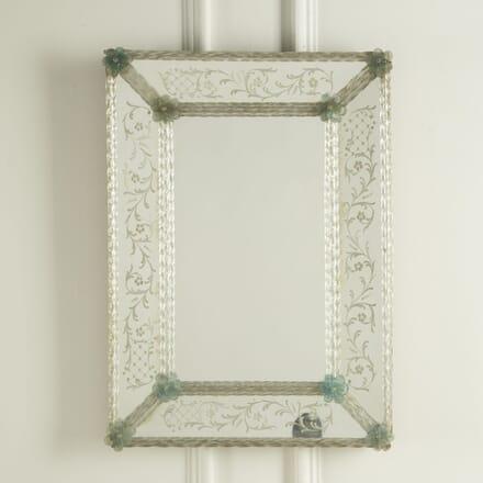 Rectangular Venetian Mirror MI309549