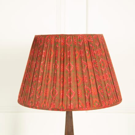 Red and Green Silk Lampshade LS669039