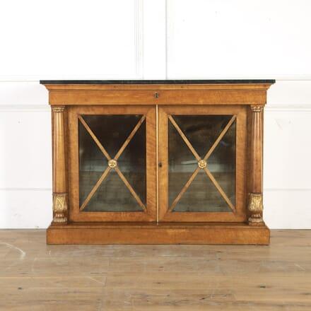 Regency Birds-Eye Maple Side Cabinet BU0314932