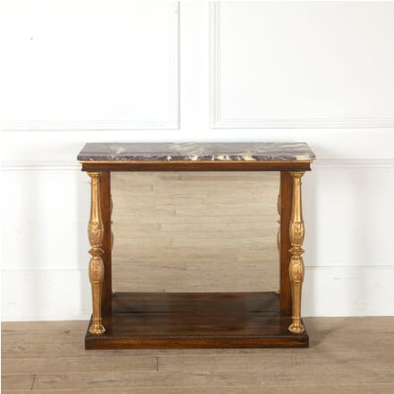 Regency Console Table with Marble Top CO8811202