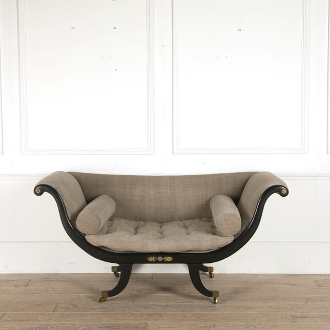 Regency Ebonised sofa SB7310399