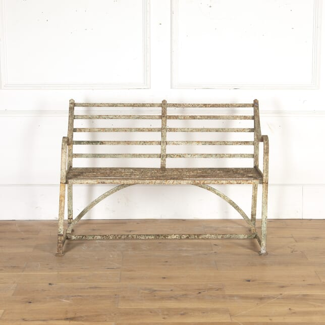 Regency Wrought-Iron Garden Bench GA8215060