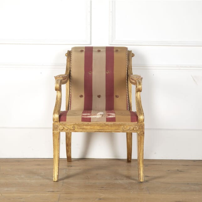 Regency Giltwood Armchair by Henry Holland CH0313284