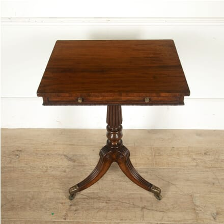 Regency Mahogany Freestanding Gillow Occasional Table TC0310250