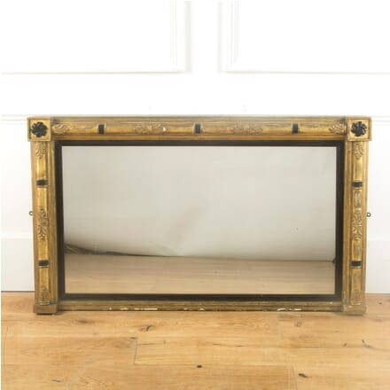 Regency Period Gilt Wood Overmantel Mirror MI999937