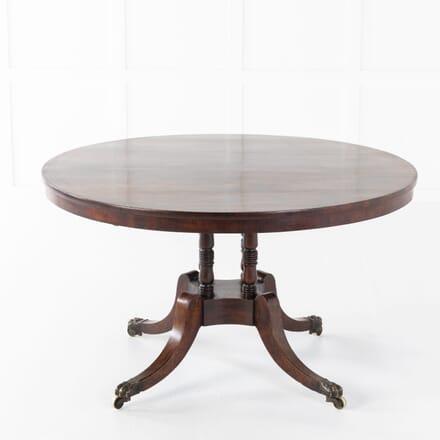 Regency Rosewood Brass Strung Centre Table TC0610888