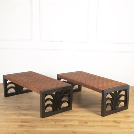 Pair of Mid Century Benches by Robsjohn-Gibbings OF7616461