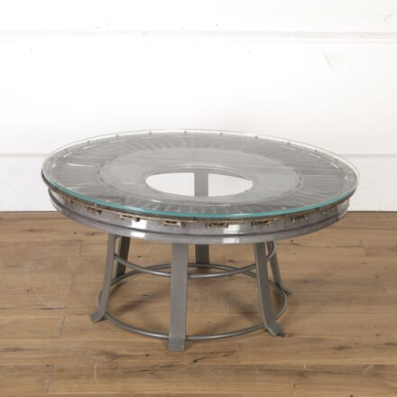 Rolls Royce Table with Glass Top TC9913635