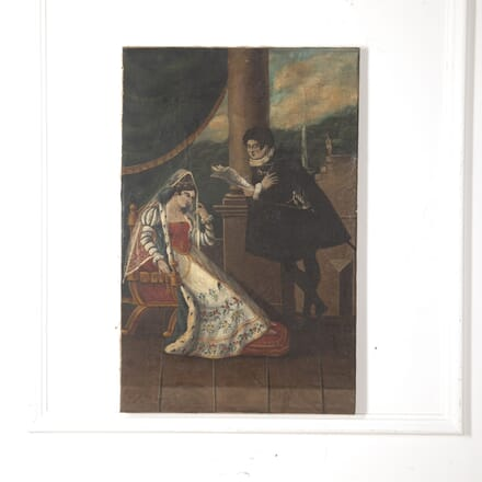 Romantic French Oil Painting WD1515285