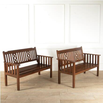 Rosewood Garden Benches SB8811104