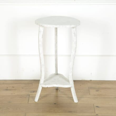 Rough White Side Table TC719669