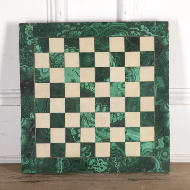 Russian Malachite Chess Board DA8914301