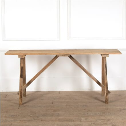 Rustic Pine Console Table CO4511236