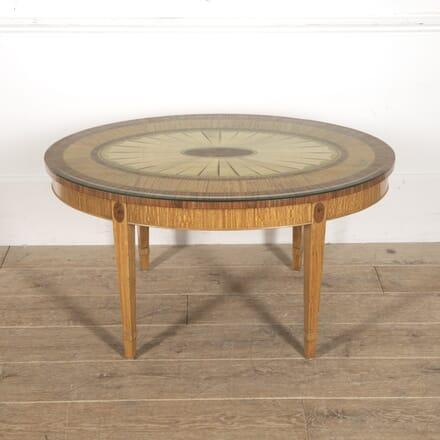 Satin and Tulipwood Inlaid Coffee Table CT8815993