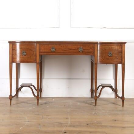 Maple & Co 19th Century Satinwood Desk DB8016642