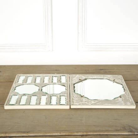Scallop Edge Mirrored Plateau Table Set DA589533