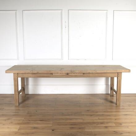 Scrubbed Elm Farmhouse Table TD8515595