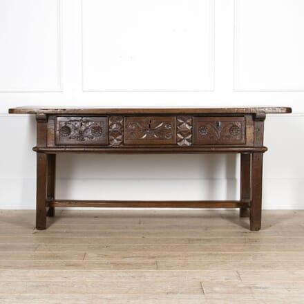 18th Century Oak Serving Table TS5217338