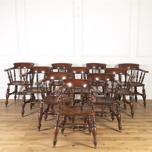 Set of Ten Windsor Armchairs CH4714891