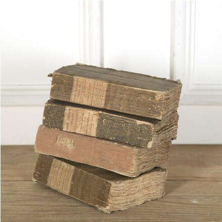 Set of 4 French 19th Century Books DA759818