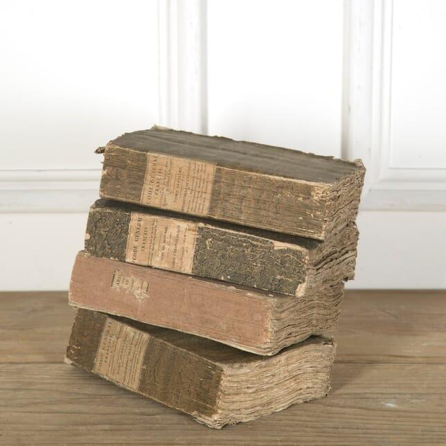 Set of 4 French 19th Century Books DA759818