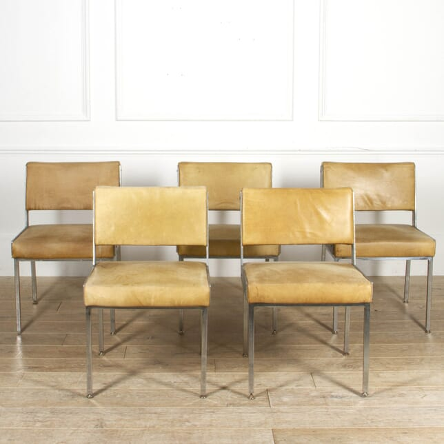 Set of Five Mid Century Dining Chairs CD2817170