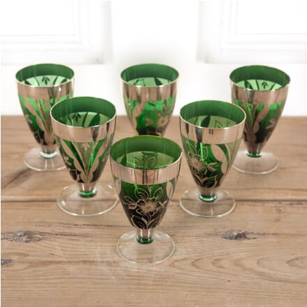 Set of Six French Wine Glasses DA9011159
