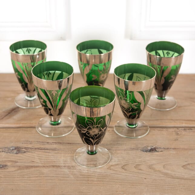 Set of 6 French Wine Glasses DA9011159