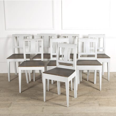 Set of 8 Swedish Dining Chairs CD999489