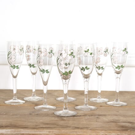 Set of Eight Perrier-Jouët Champagne Flutes DA1516632