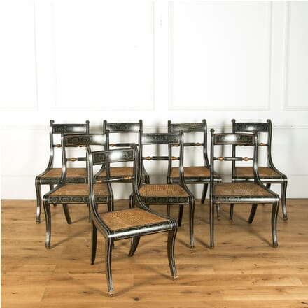 Set of Eight Regency Chairs CD749404