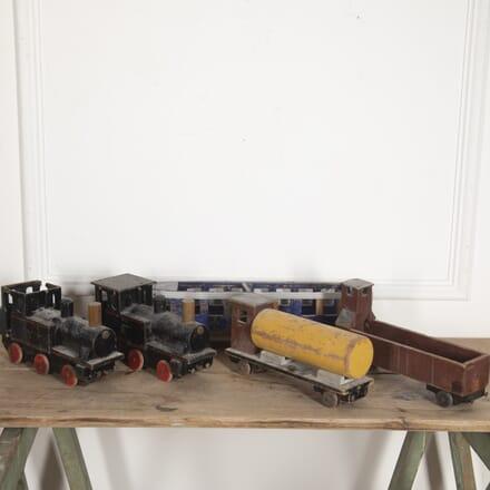Set of Five Danish 'Uncle Harald's' Trains DA2915890