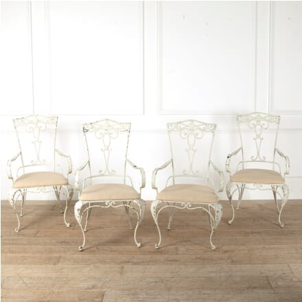 Set of Four 1950s Iron Armchairs GA1511562
