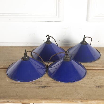 Set of Four Blue Lights LL2014184