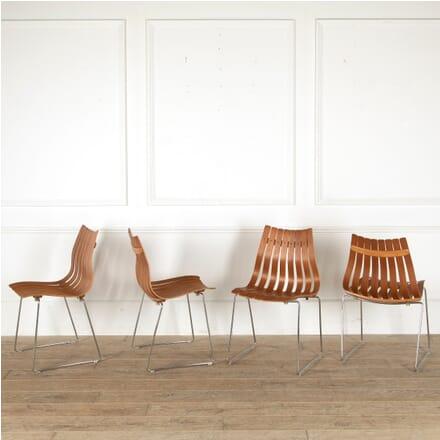 Set of Four Hans Brattrud Scandia Chairs CD1211586
