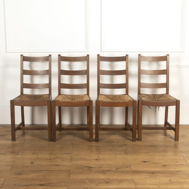 Set of Four Heal's Oak Chairs CD7316965
